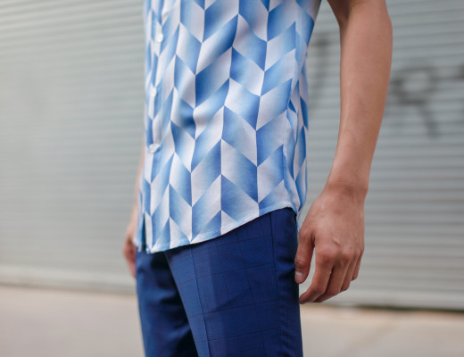oh anthonio - mens all blue outfit