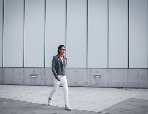 oh anthonio - h&m all white summer outfit