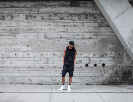 oh anthonio - all black summer outfit