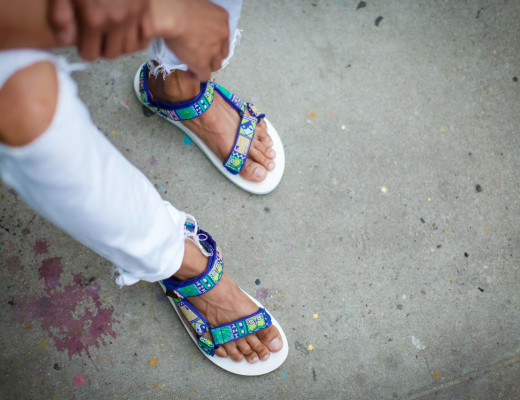oh anthonio - national forest x teva sandal