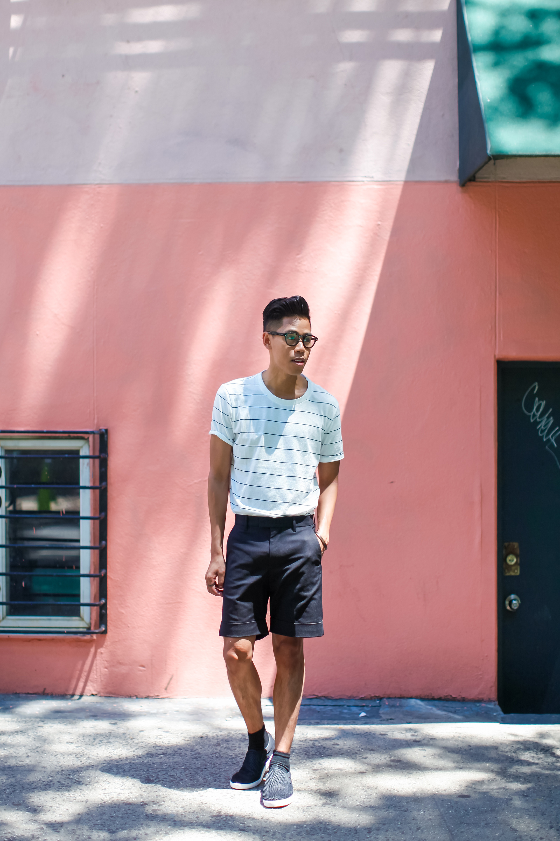 oh anthonio - men's tailored shorts outfit