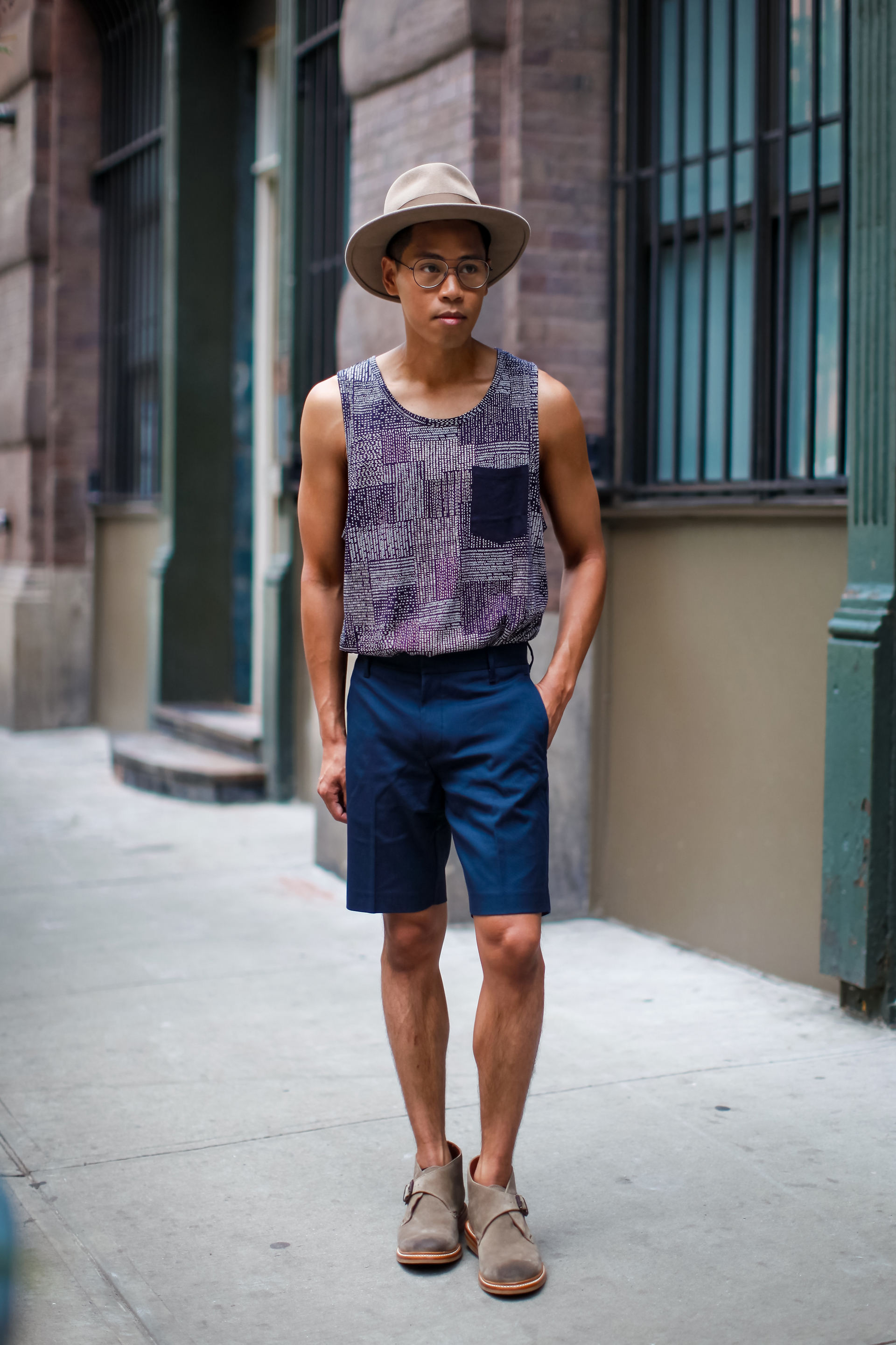 oh anthonio - Anthony Urbano - men's tank top outfit