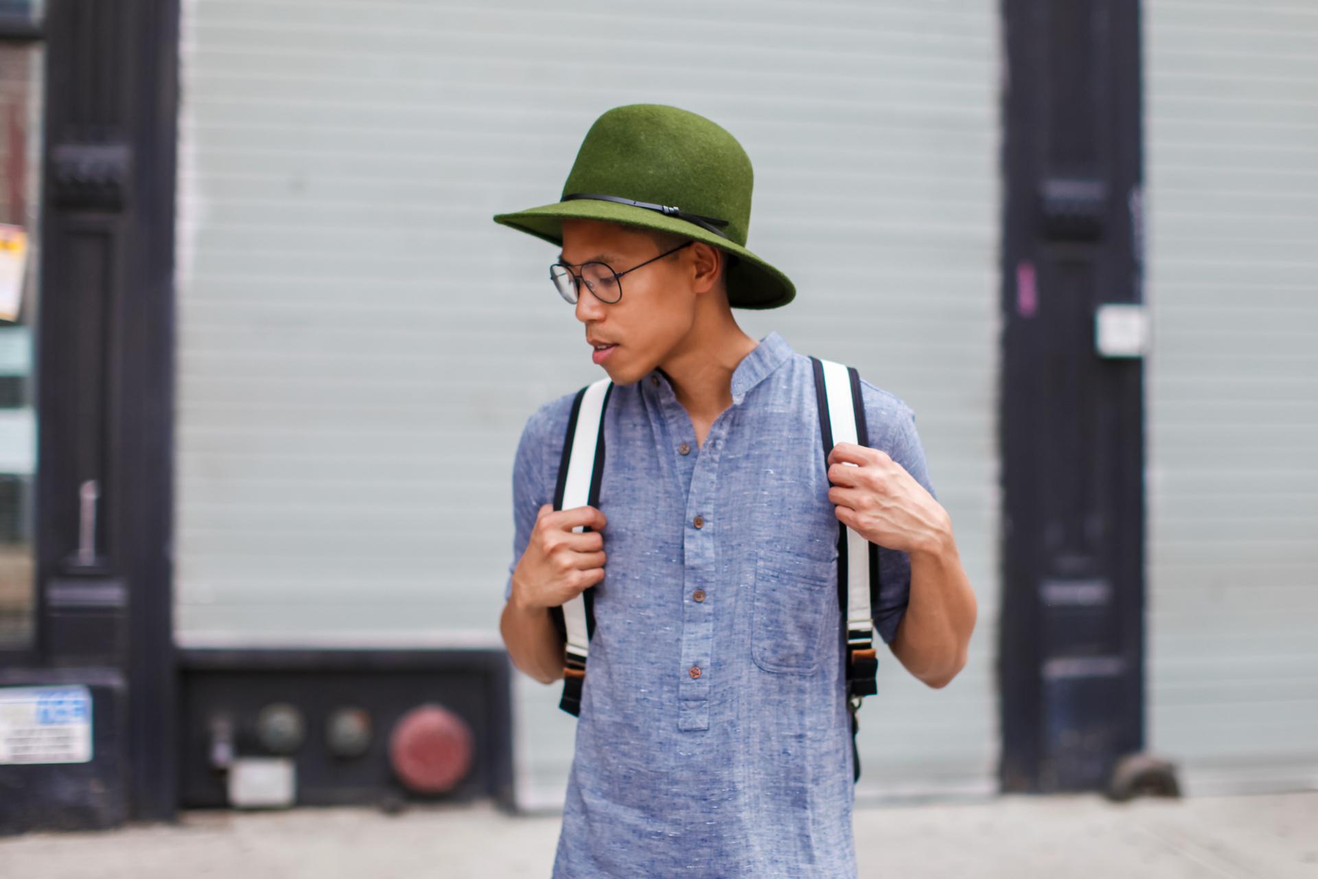oh anthonio - Anthony Urbano - men's tunic shirt trend