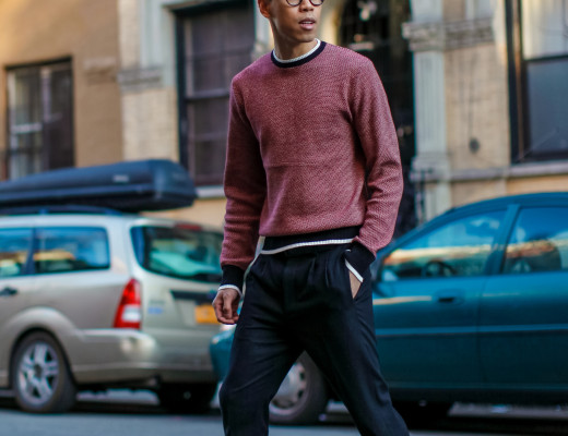 oh anthonio - Anthony Urbano - men's crew neck sweater outfit