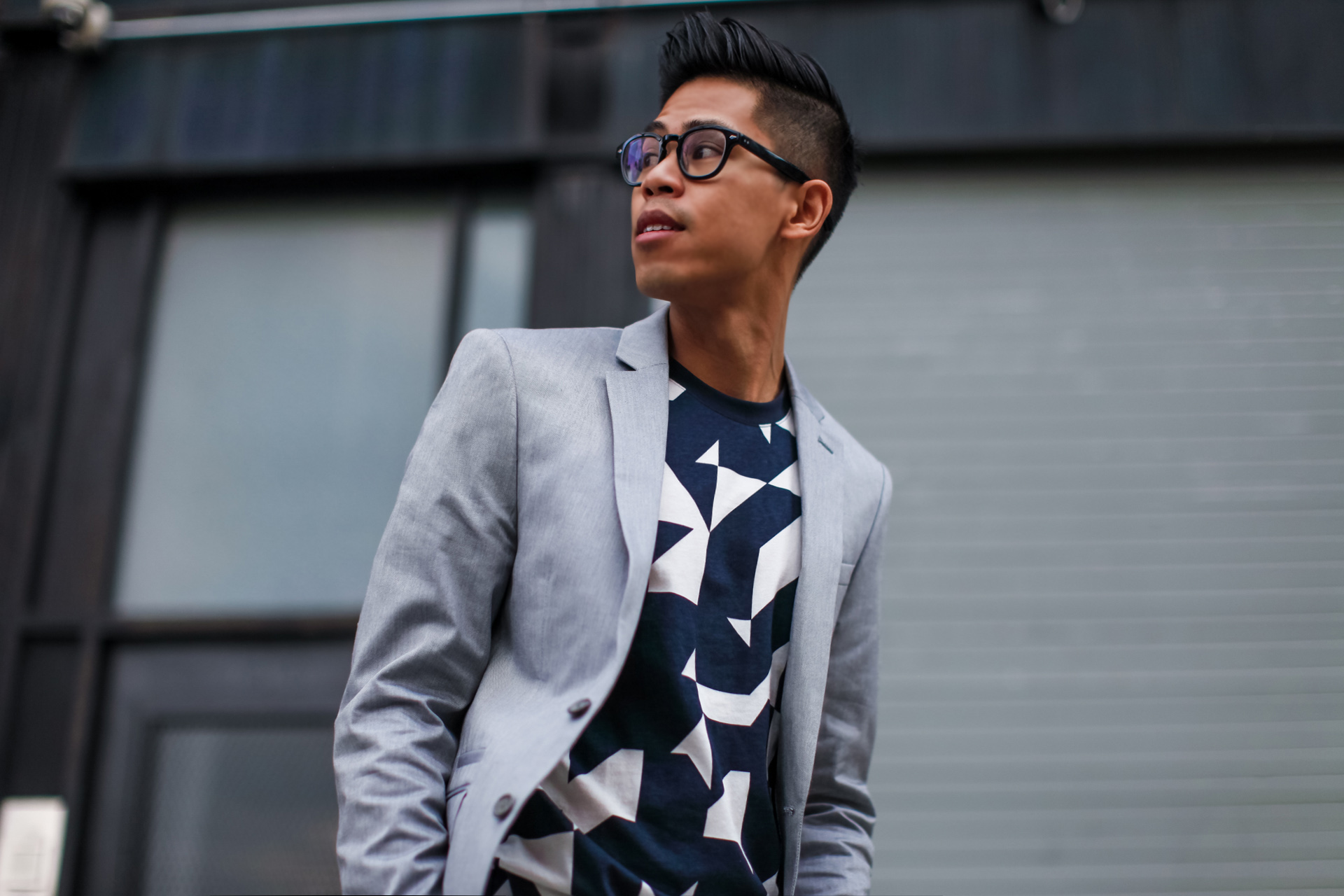 oh anthonio - Anthony Urbano - men's Express suit