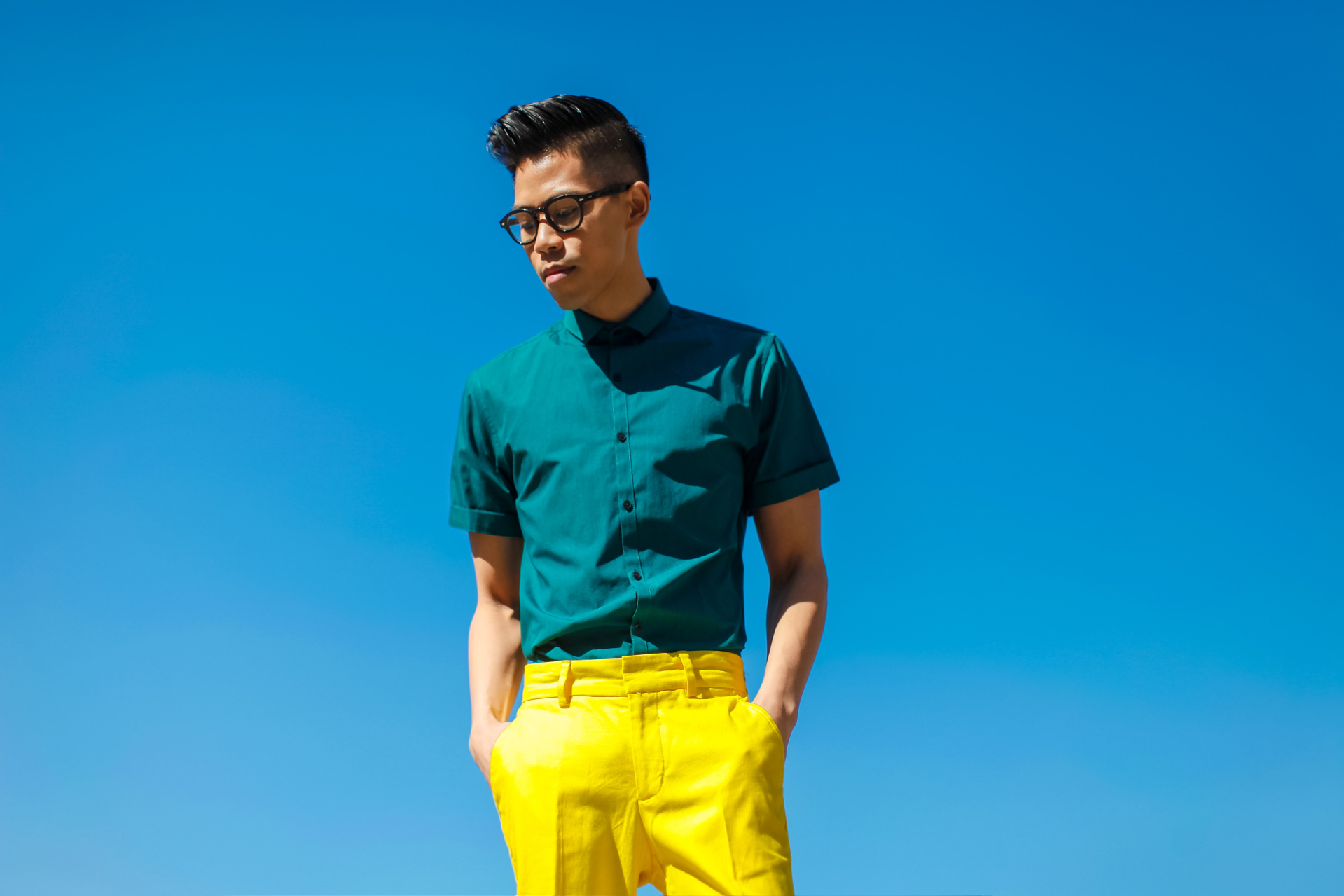 oh anthonio - Anthony Urbano - men's bright colored outfit