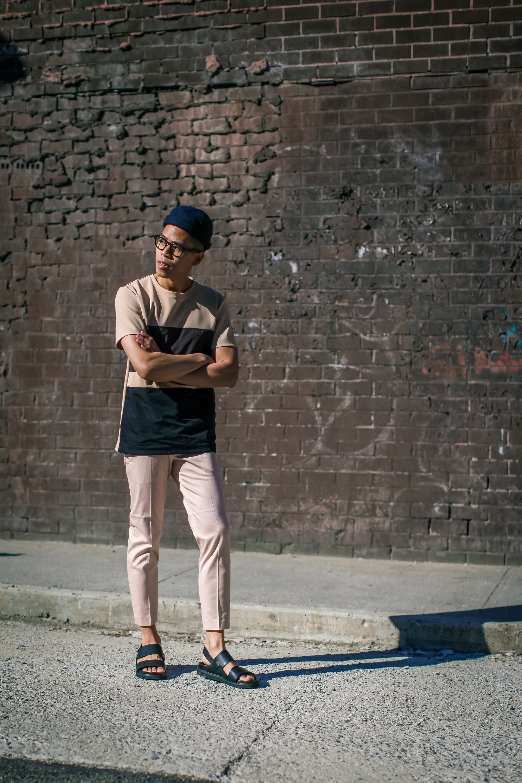 oh anthonio - Anthony Urbano - men's blush tones outfit