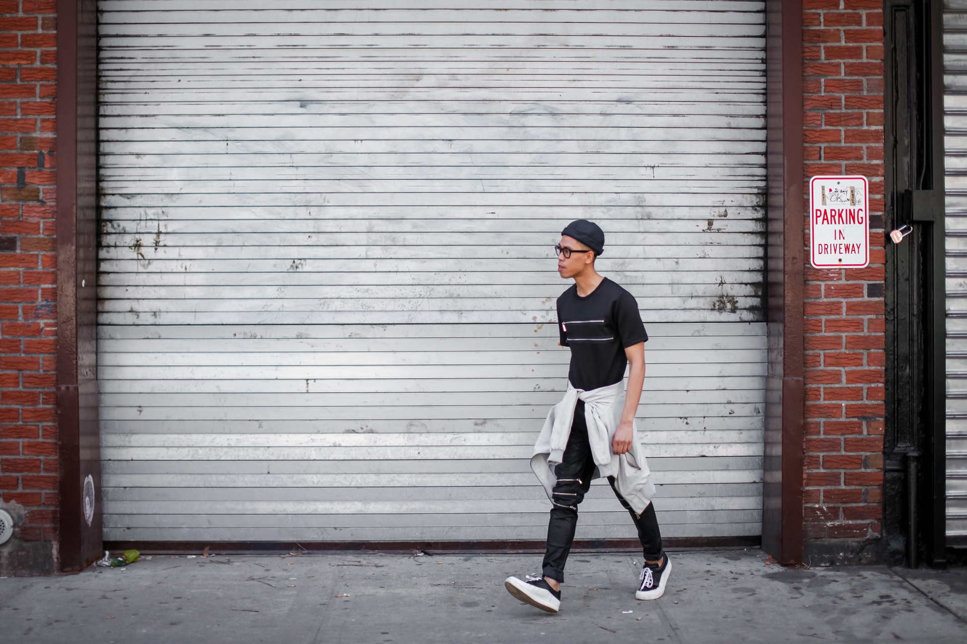oh anthonio - Anthony Urbano - men's all black outfit streetwear