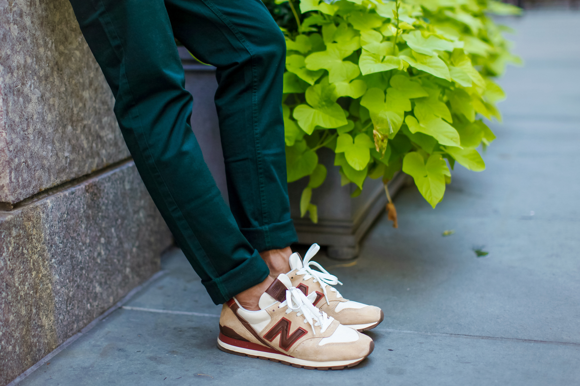 oh anthonio - Anthony Urbano - Maison Kitsuné men's FW15 new balance m996 mid-century modern collection