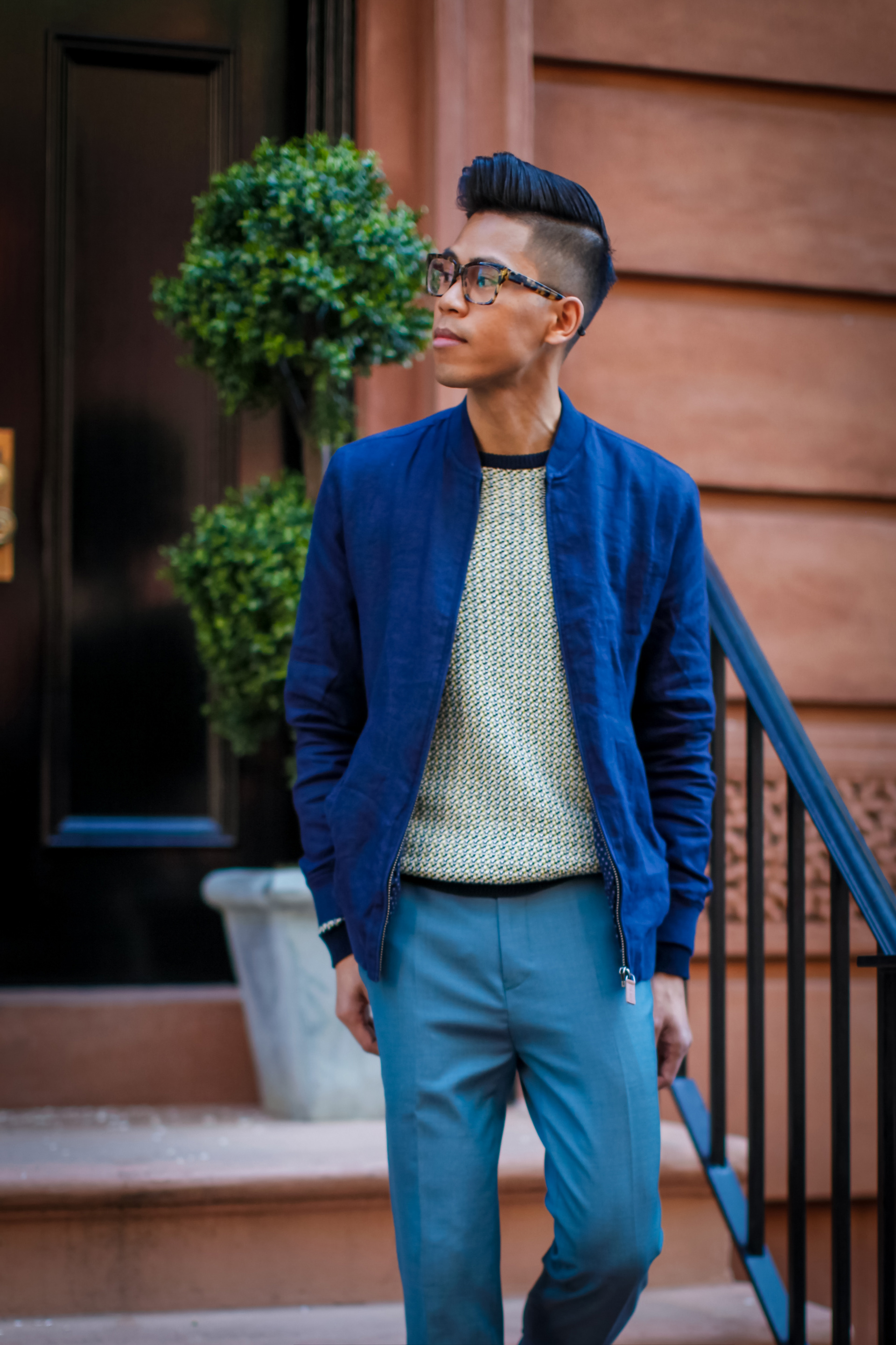oh anthonio - Anthony Urbano - Ted Baker men's outfit