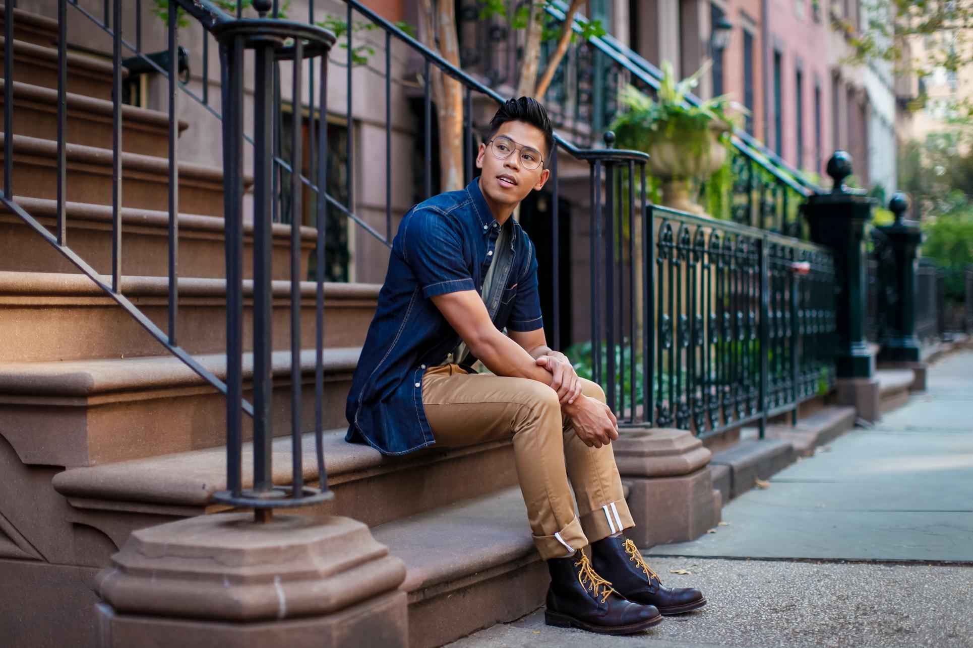 oh anthonio - Anthony Urbano - men's boots street style