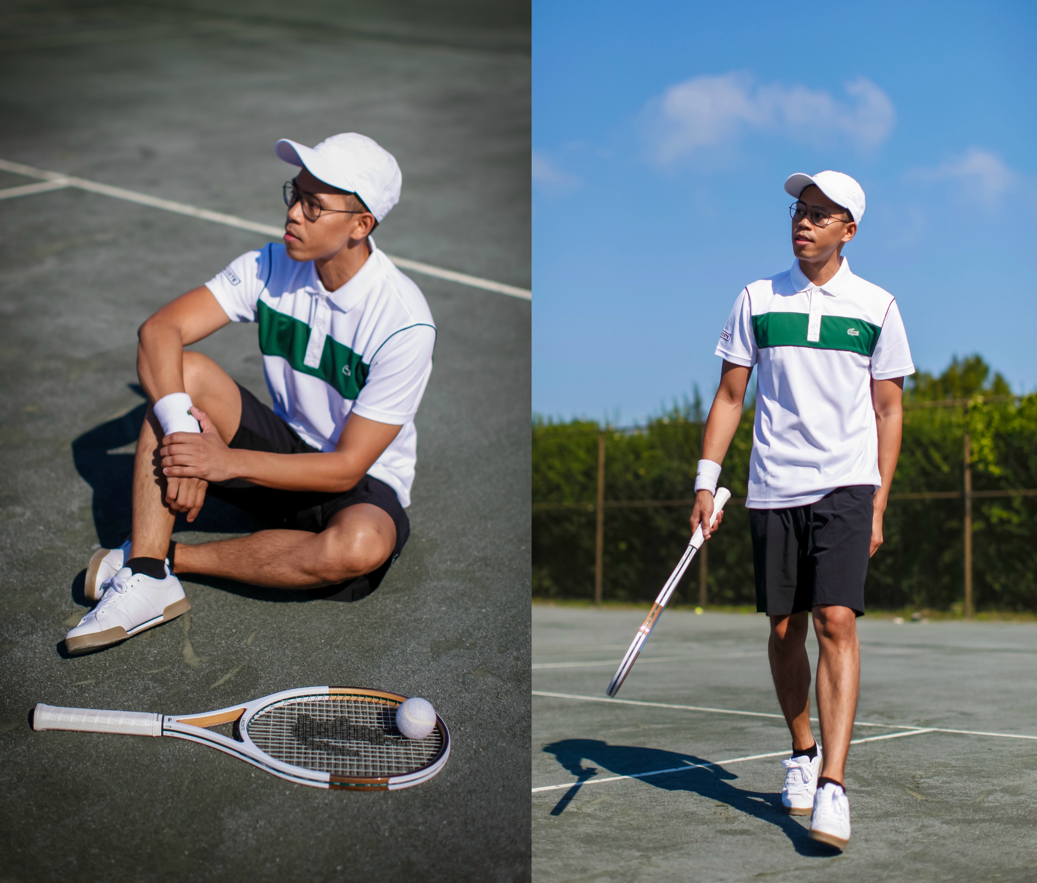 oh anthonio - Anthony Urbano - Lacoste #beautiful tennis montauk