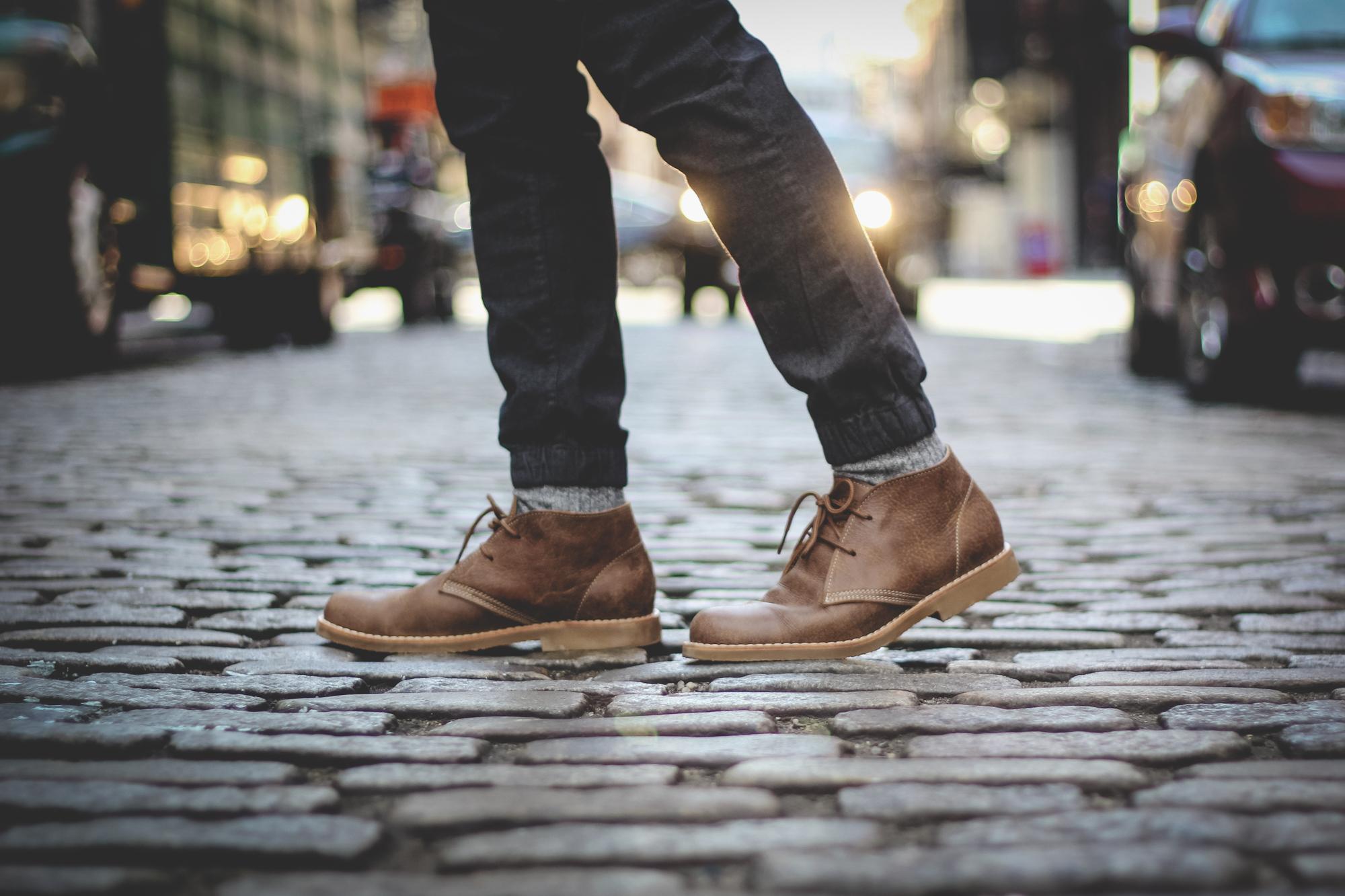 mens chukka boot desert boot
