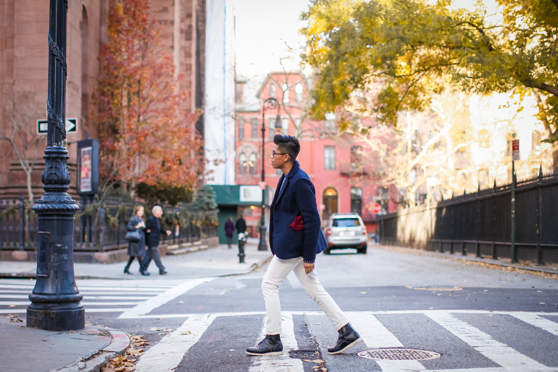 mens preppy winter outfit