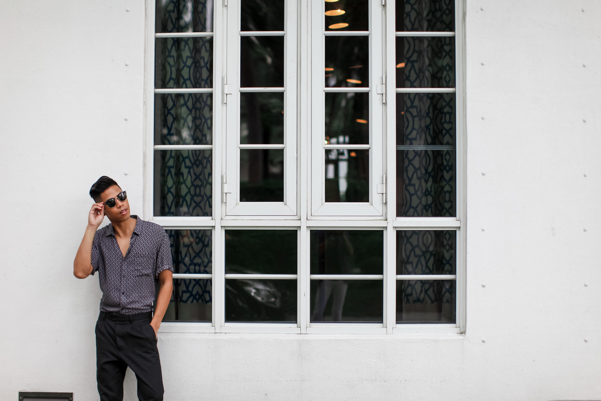 how to wear all black in the summer