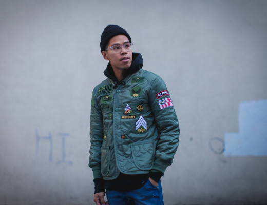 alpha industries anniversary jacket
