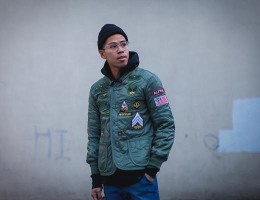 alpha industries anniversary jacket