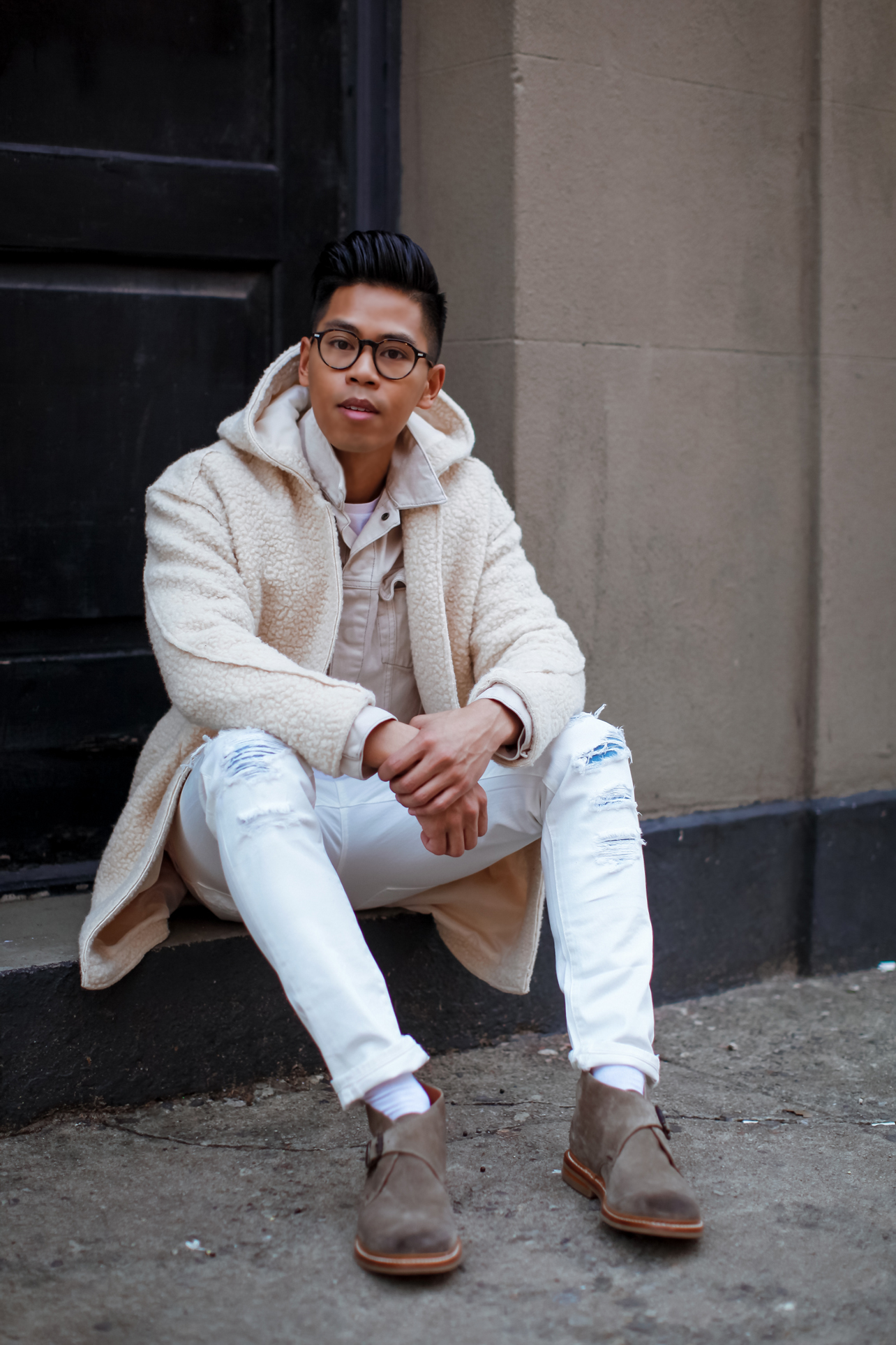 How To Wear Winter White For Men