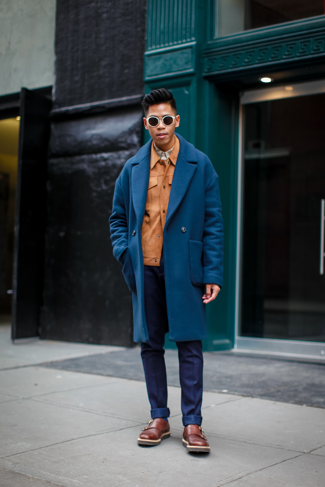 how to layer coats