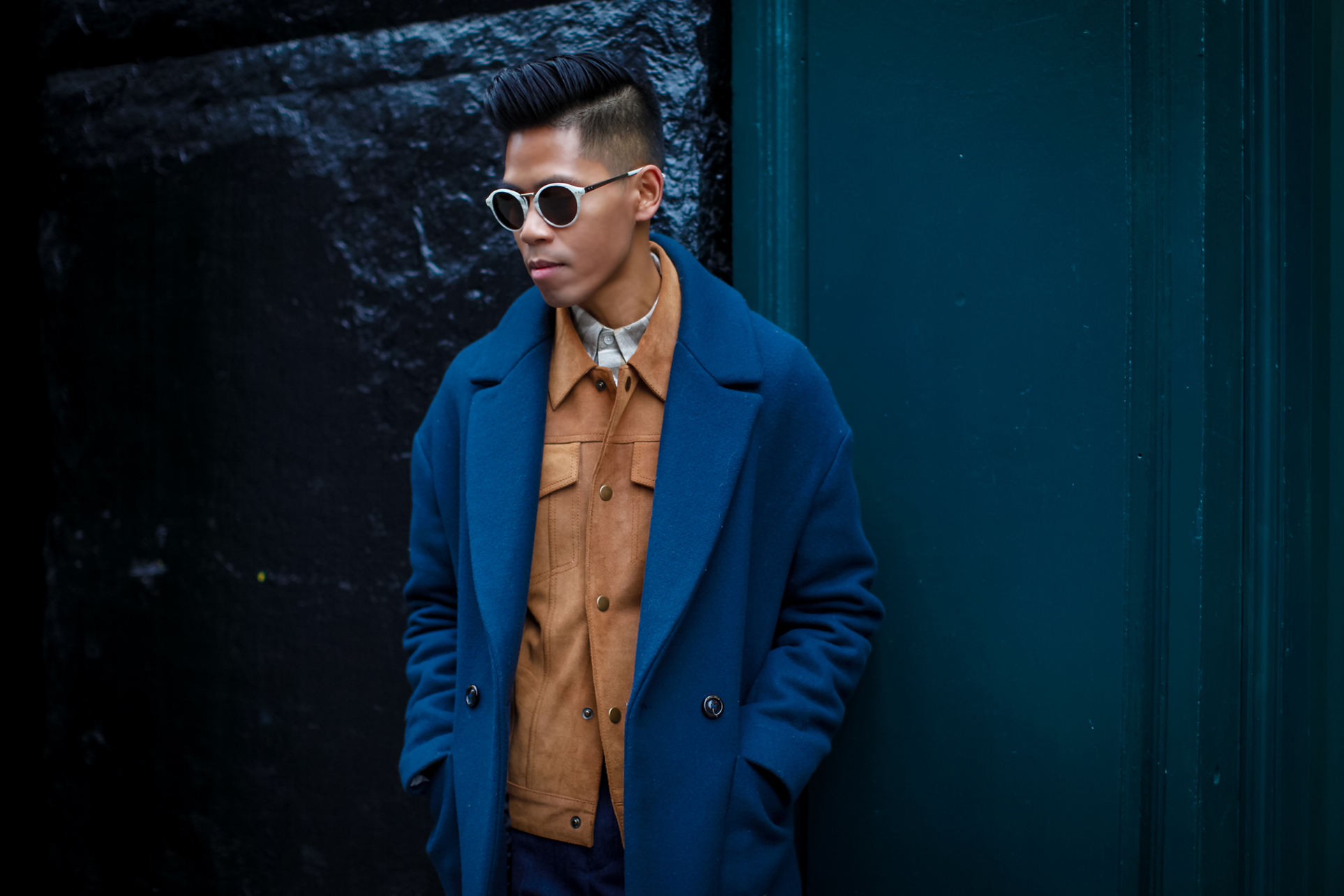 how to pull off the double jacket