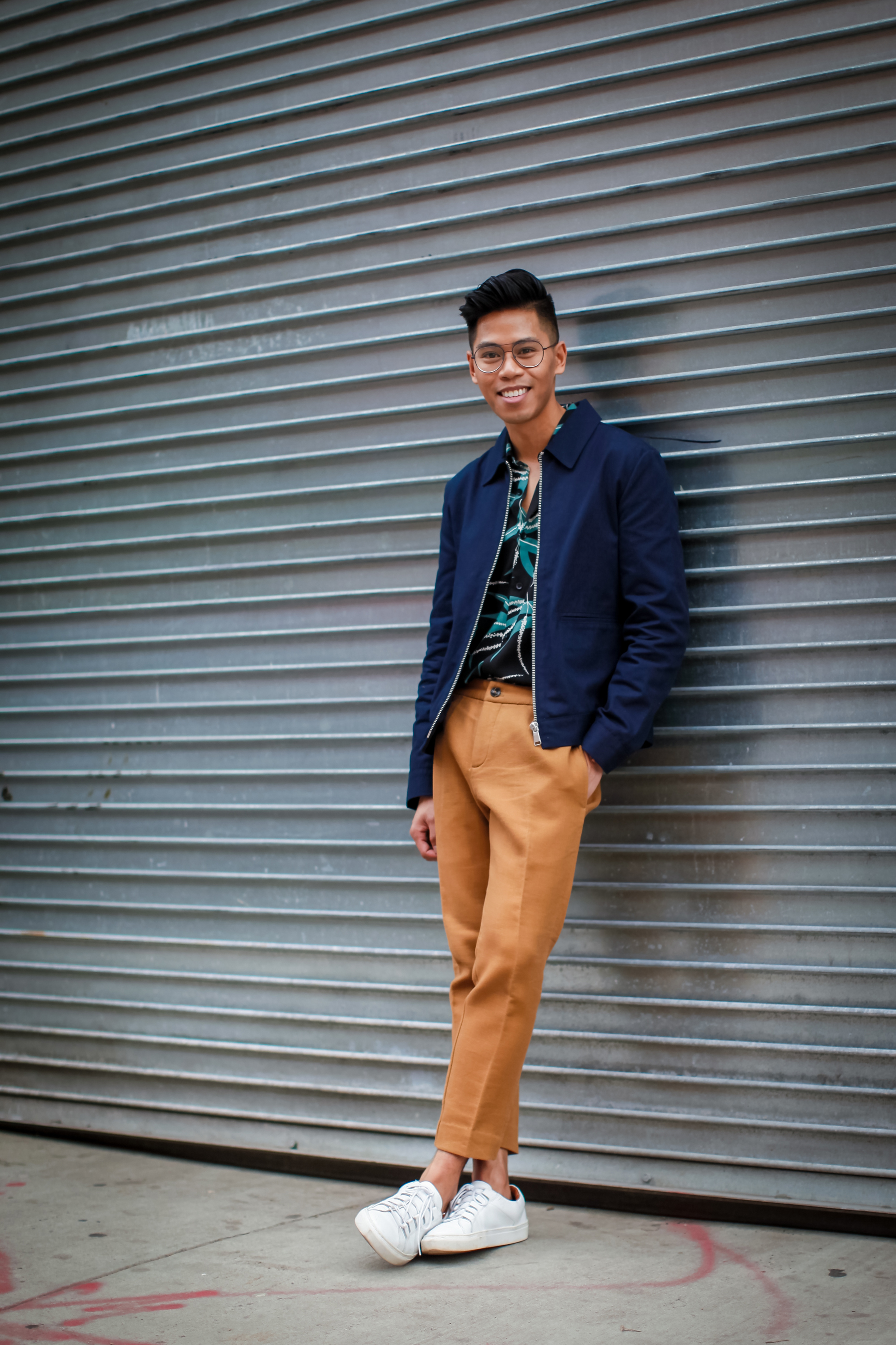 how to wear florals for men