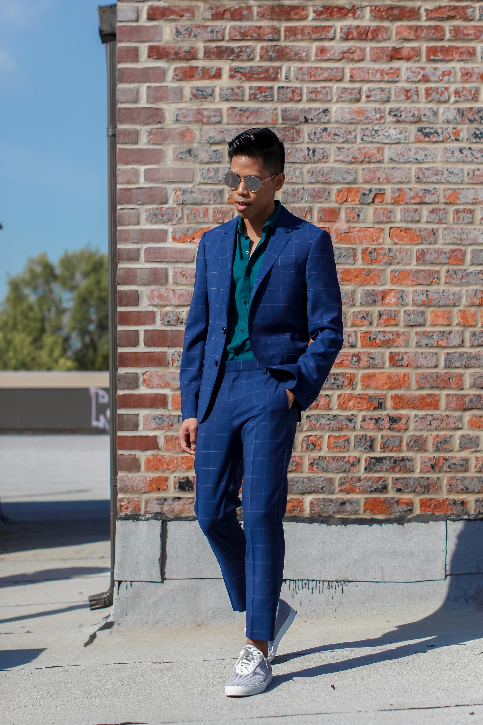tommy hilfiger suit street style