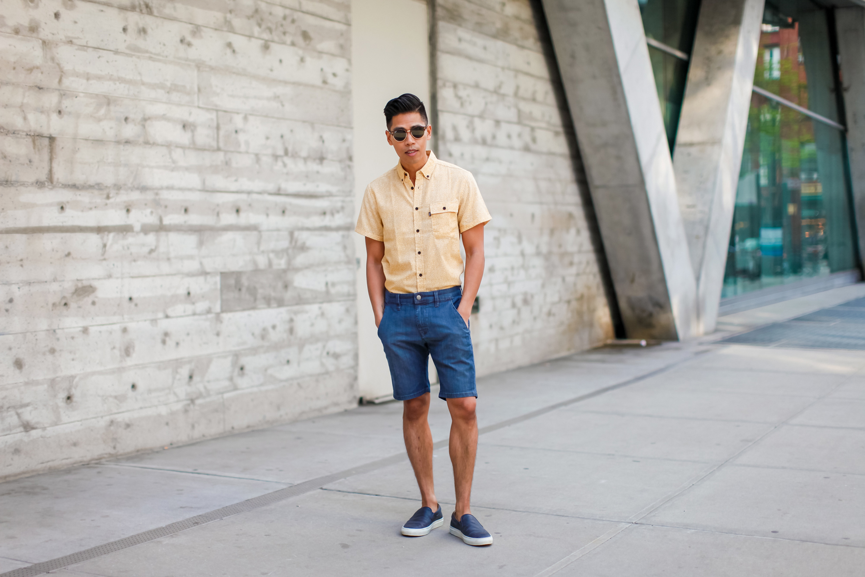 yellow shirt-5