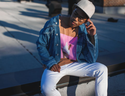 acne studios frayed collar jacket