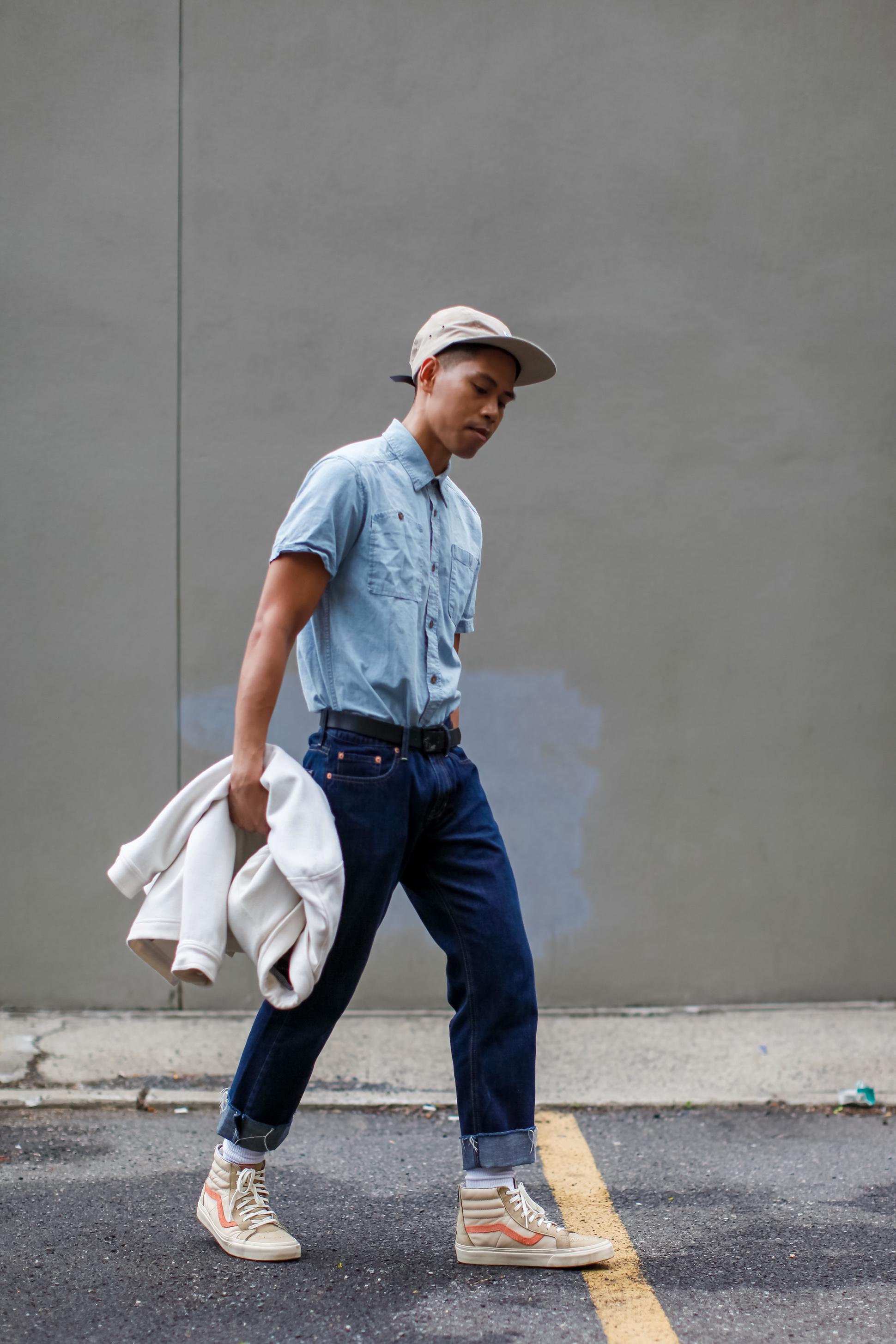 Mens Oversized Shirt