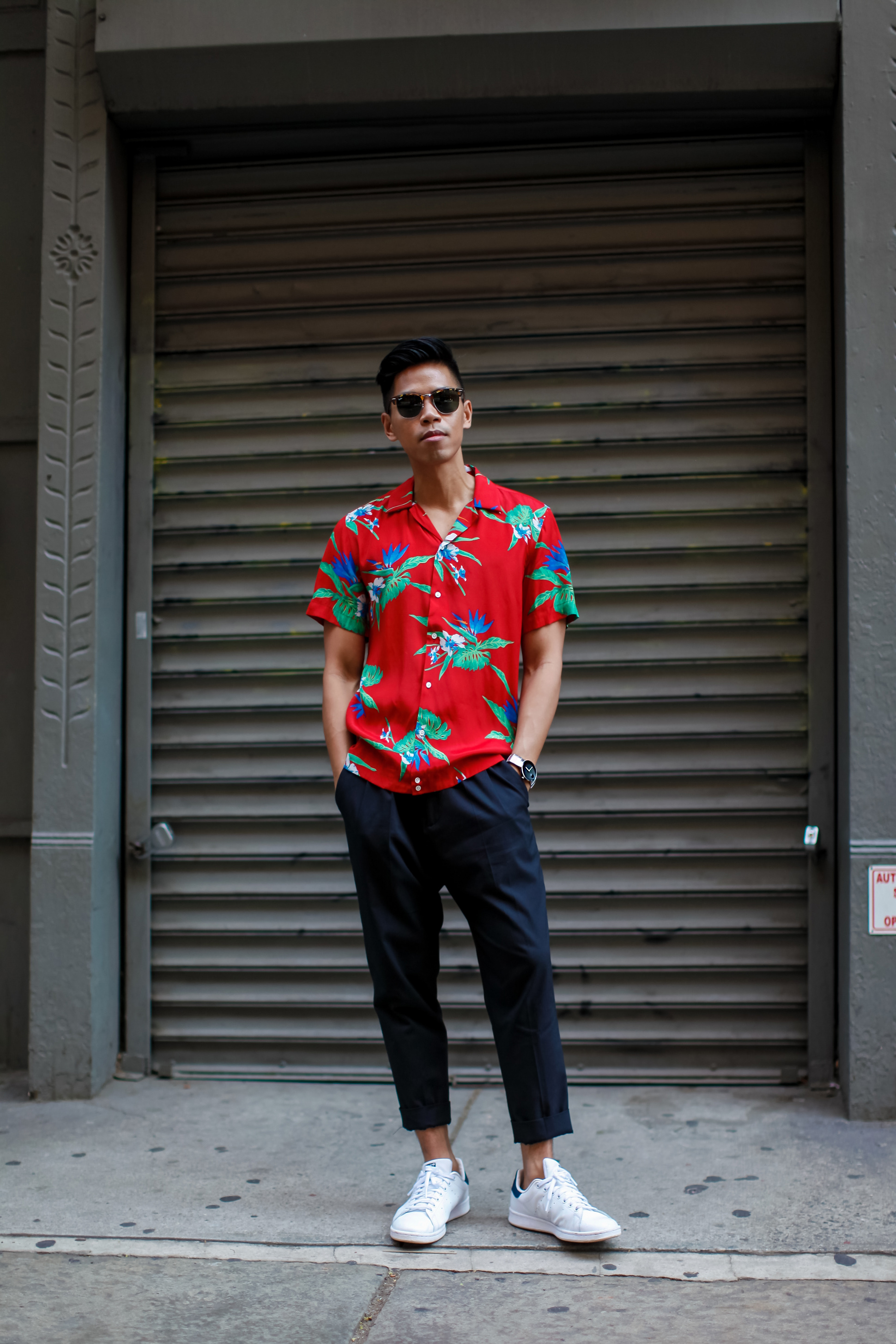 perfect modern hawaiian outfit for men 18