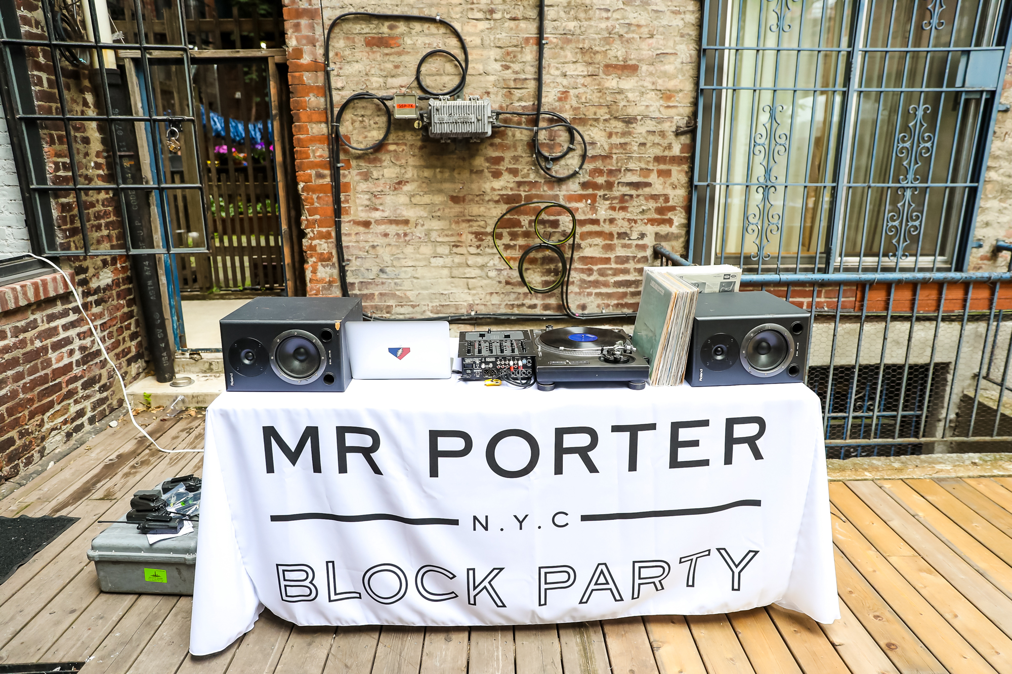 mr porter block party