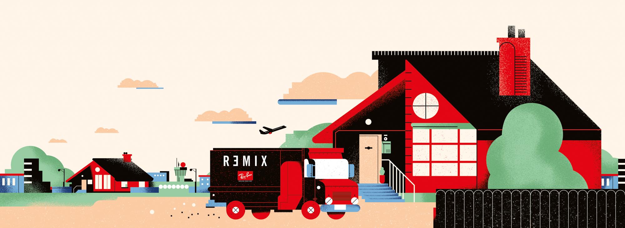 rayban remix hamptons trip