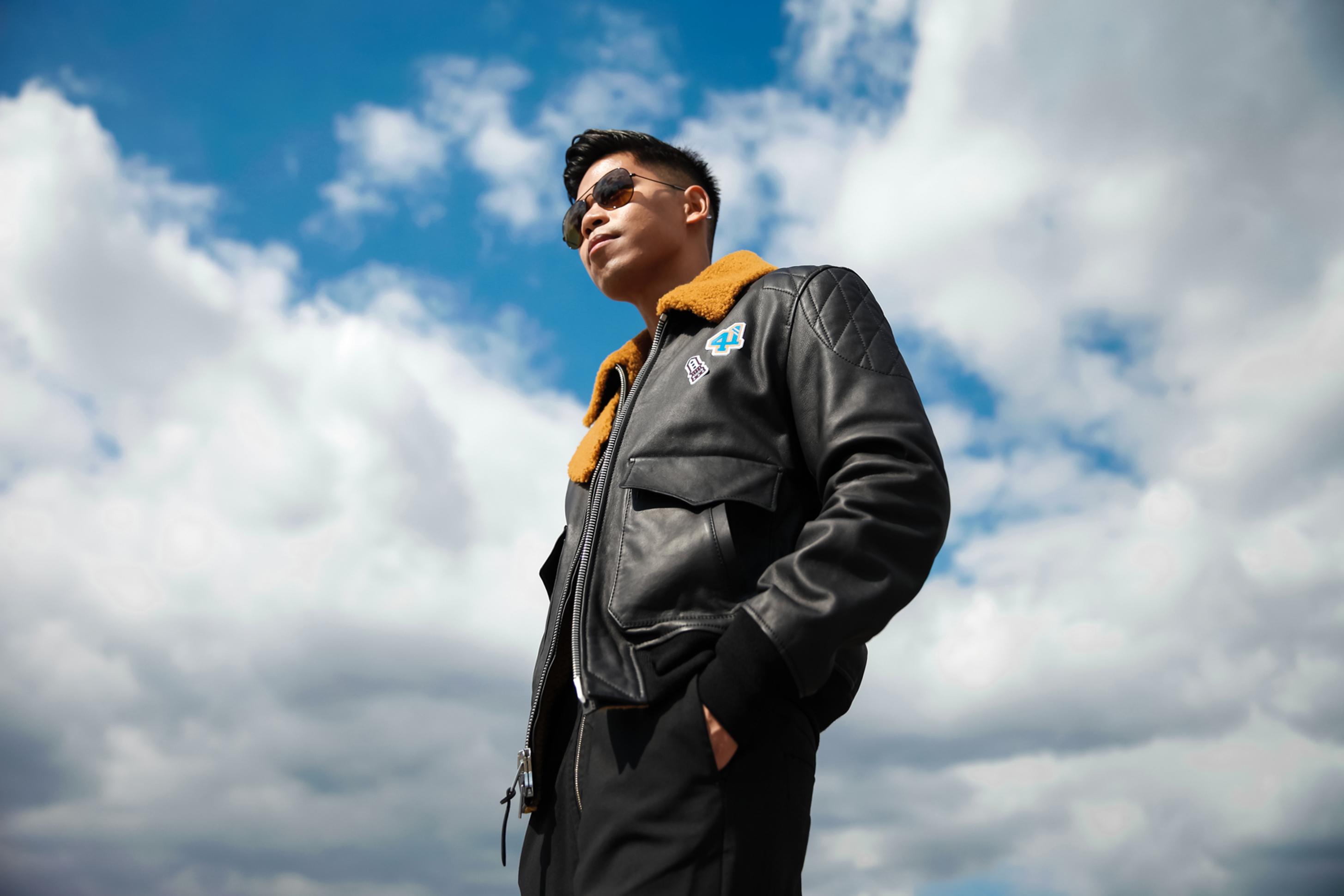 coach mens 2016 aviator bomber jacket