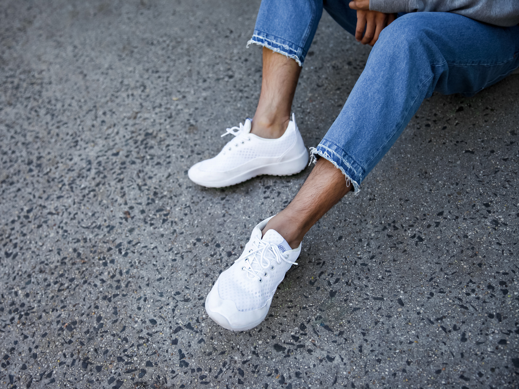 greats brand ghost white sneakers