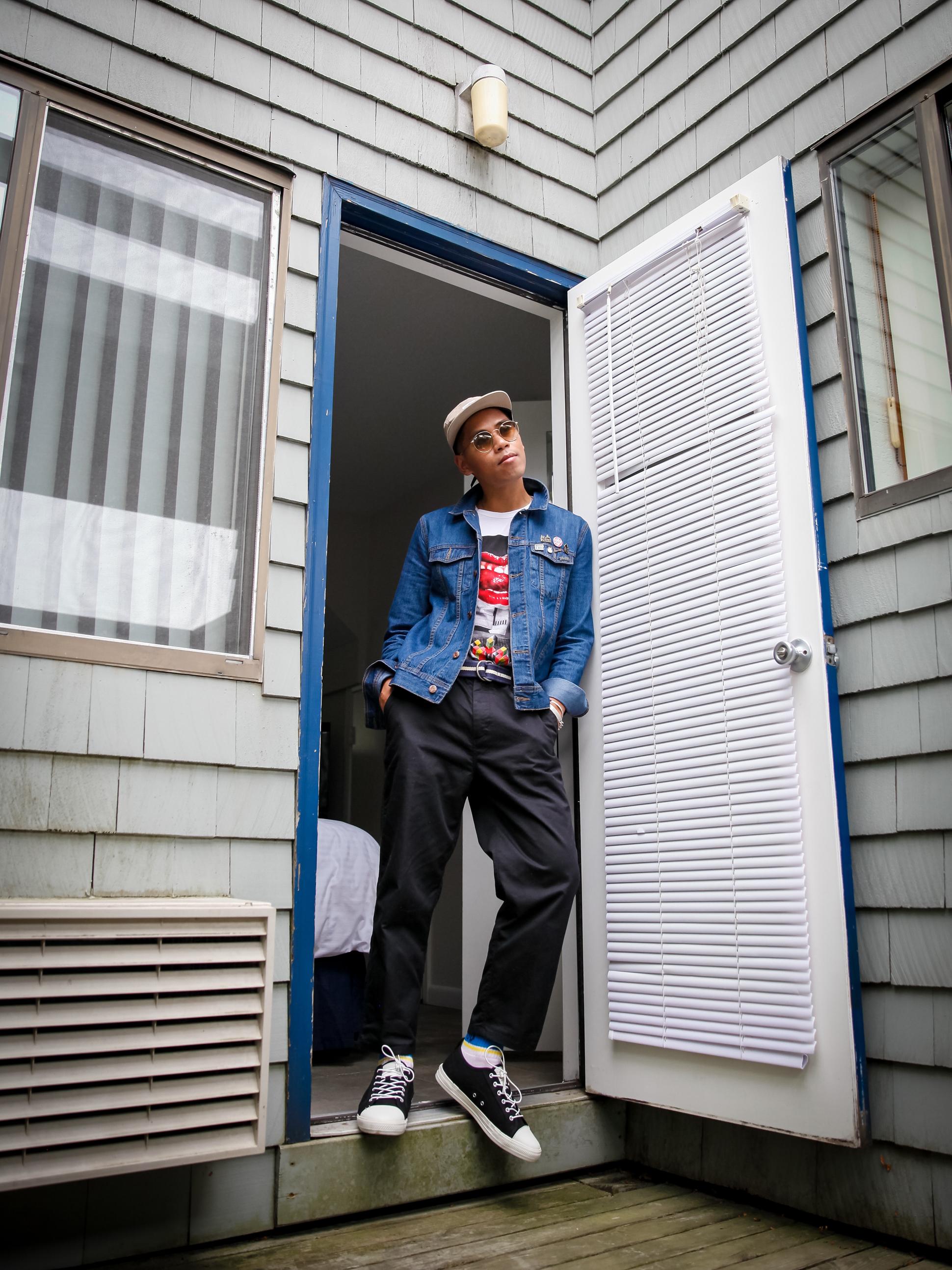 dr denim 90s street style blogger
