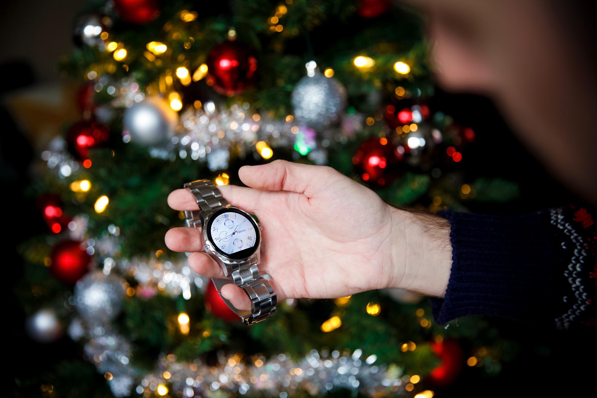 Fossil q marshal holiday gifting