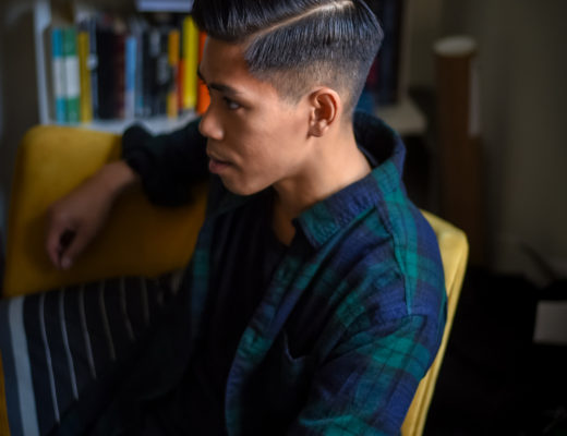 how to style a pompadour with old spice