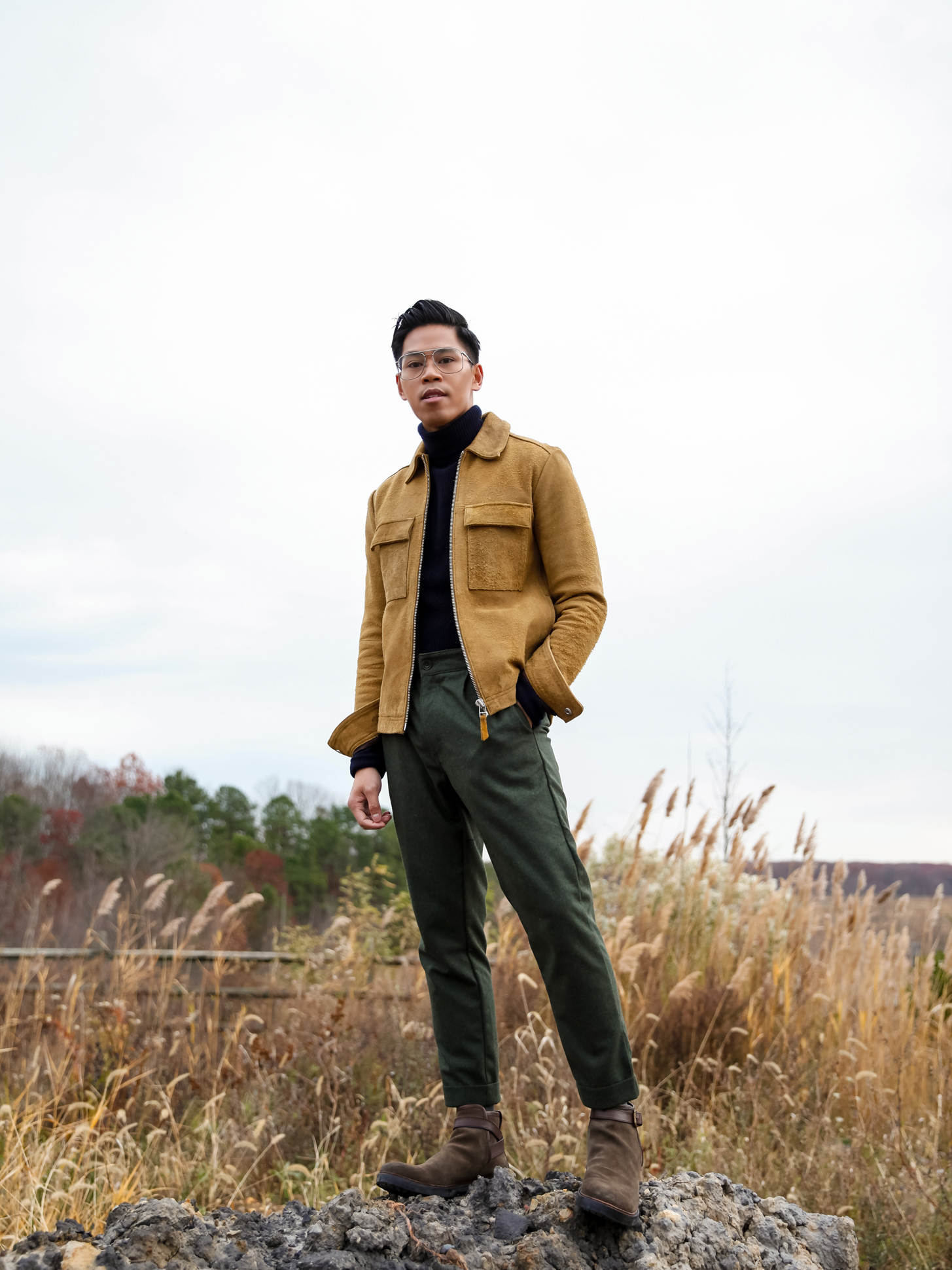 best fall colors to wear for men