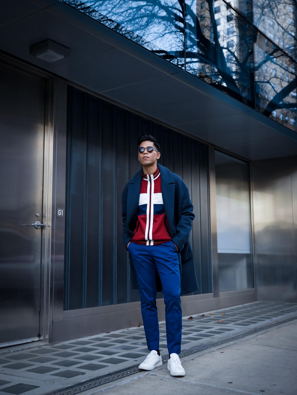 mens track jacket trend street style