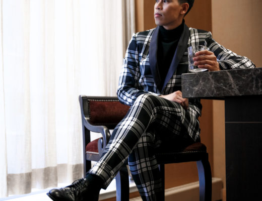 mens plaid suit NYE