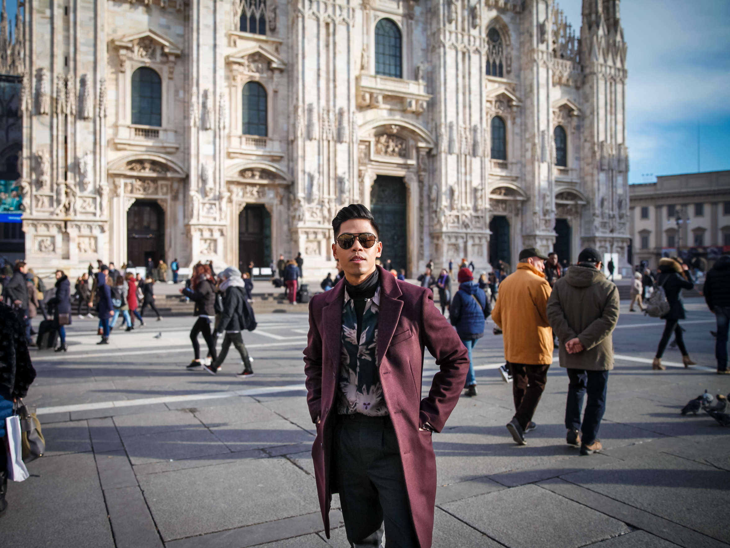 Anthony Urbano Milan MMFW street style