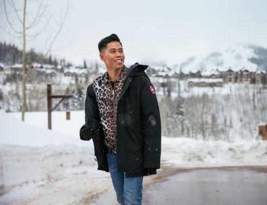 Canada Goose x Sundance street style