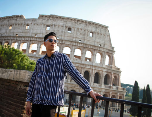 best place to get a picture of the colosseum