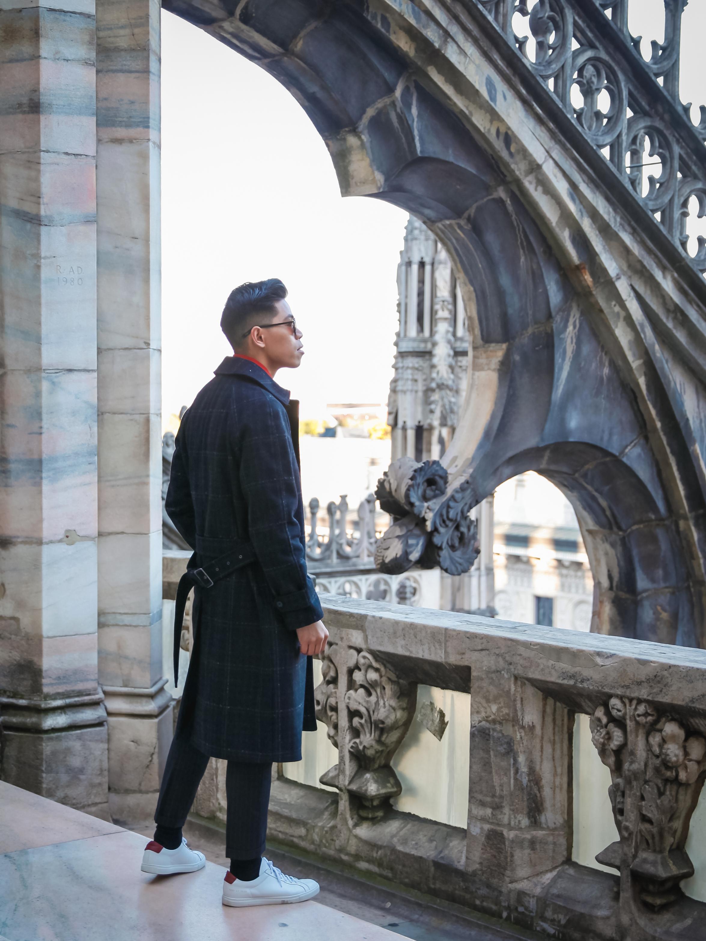 MMFW Duomo Street Style