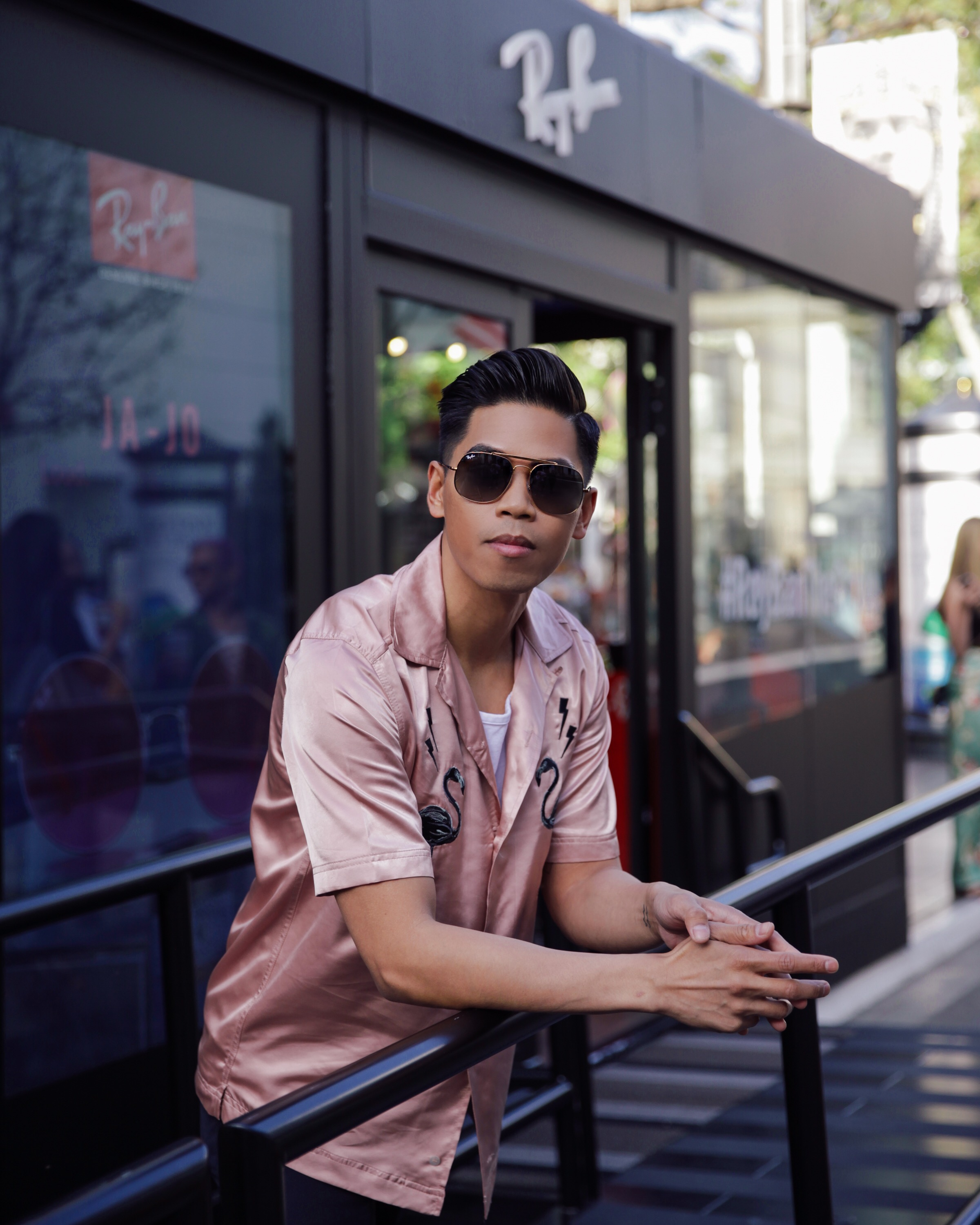 rayban the general street style blogger