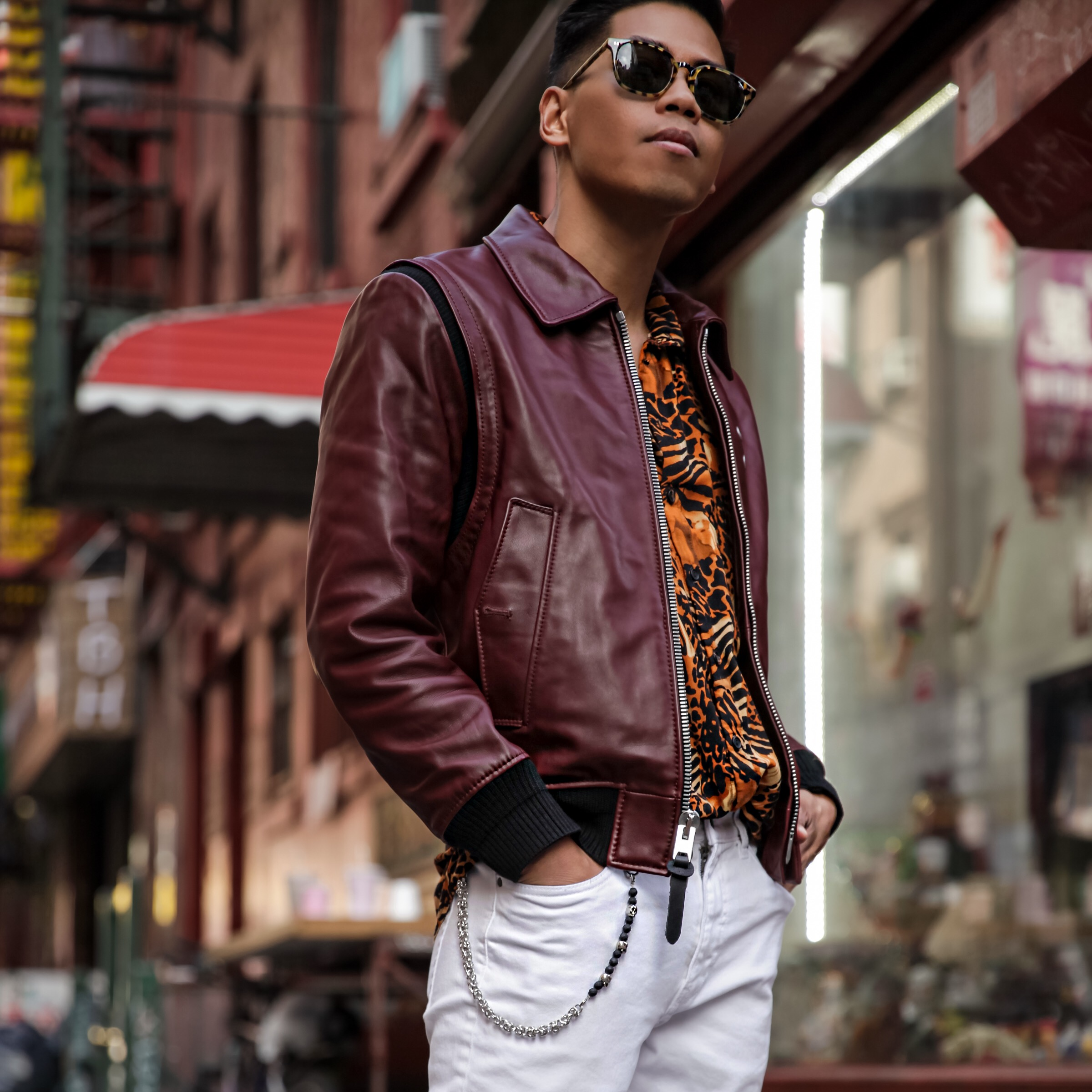 coach mens ss17 jacket street style blogger