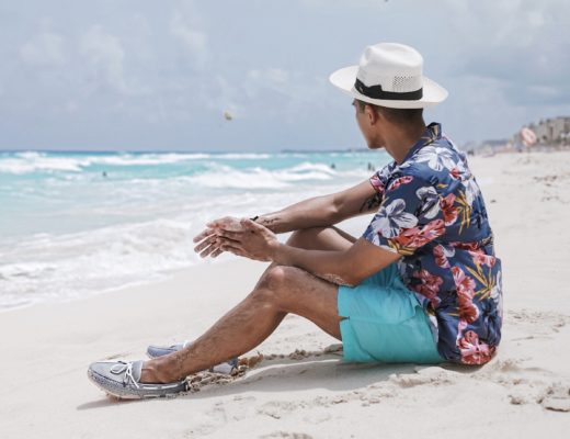 what to wear to the beach for guys