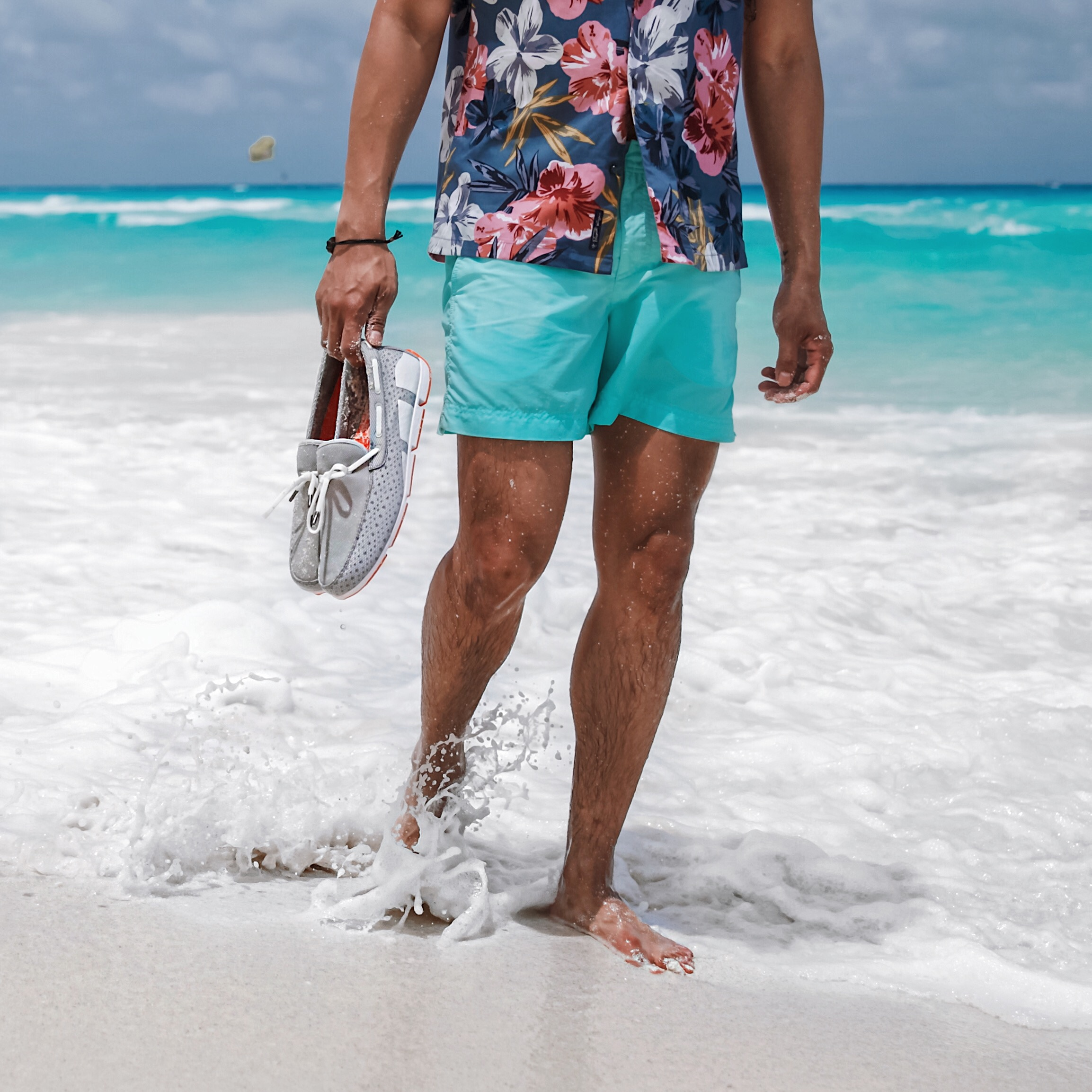mens beach style outfit