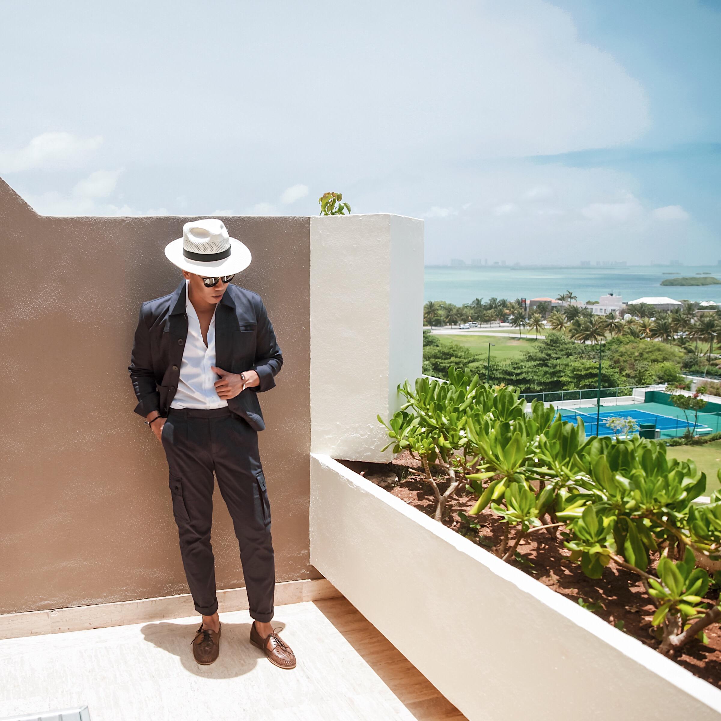 men's resort wear beach looks