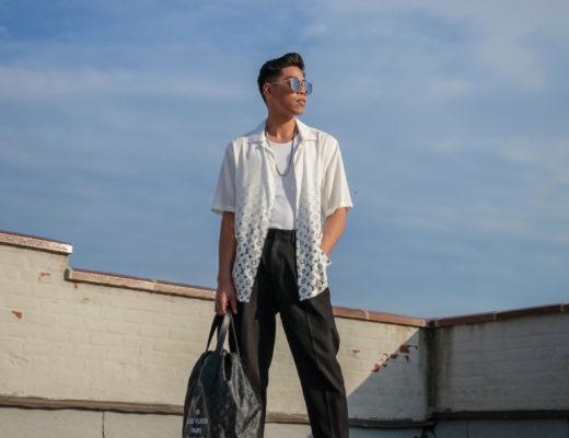 louis vuitton x fragment design lookbook street style blogger